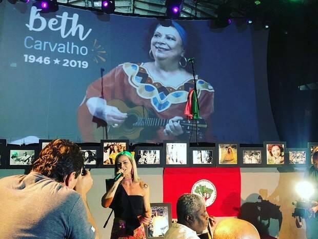 Samba de Sétimo Dia de Beth Carvalho tem muito agito. Foto: Reprodução / Instagram