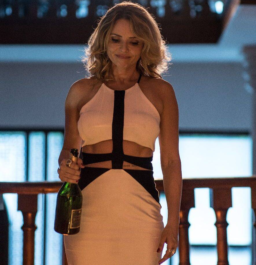 """Rita Guedes em """"Um Contra Todos"""" como Telma, uma ex-prostituta. Foto: Reprodução/Instagram"""