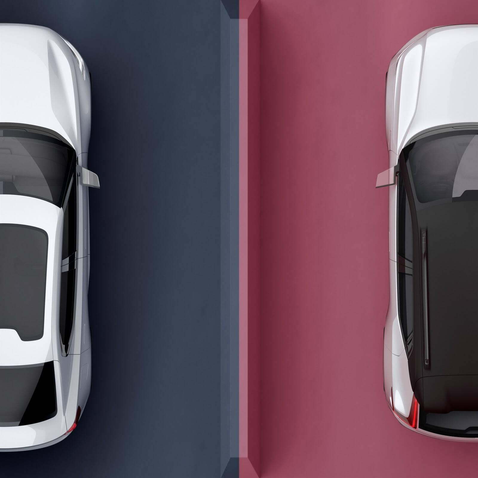 Volvo XC40 e S40. Foto: Divulgação
