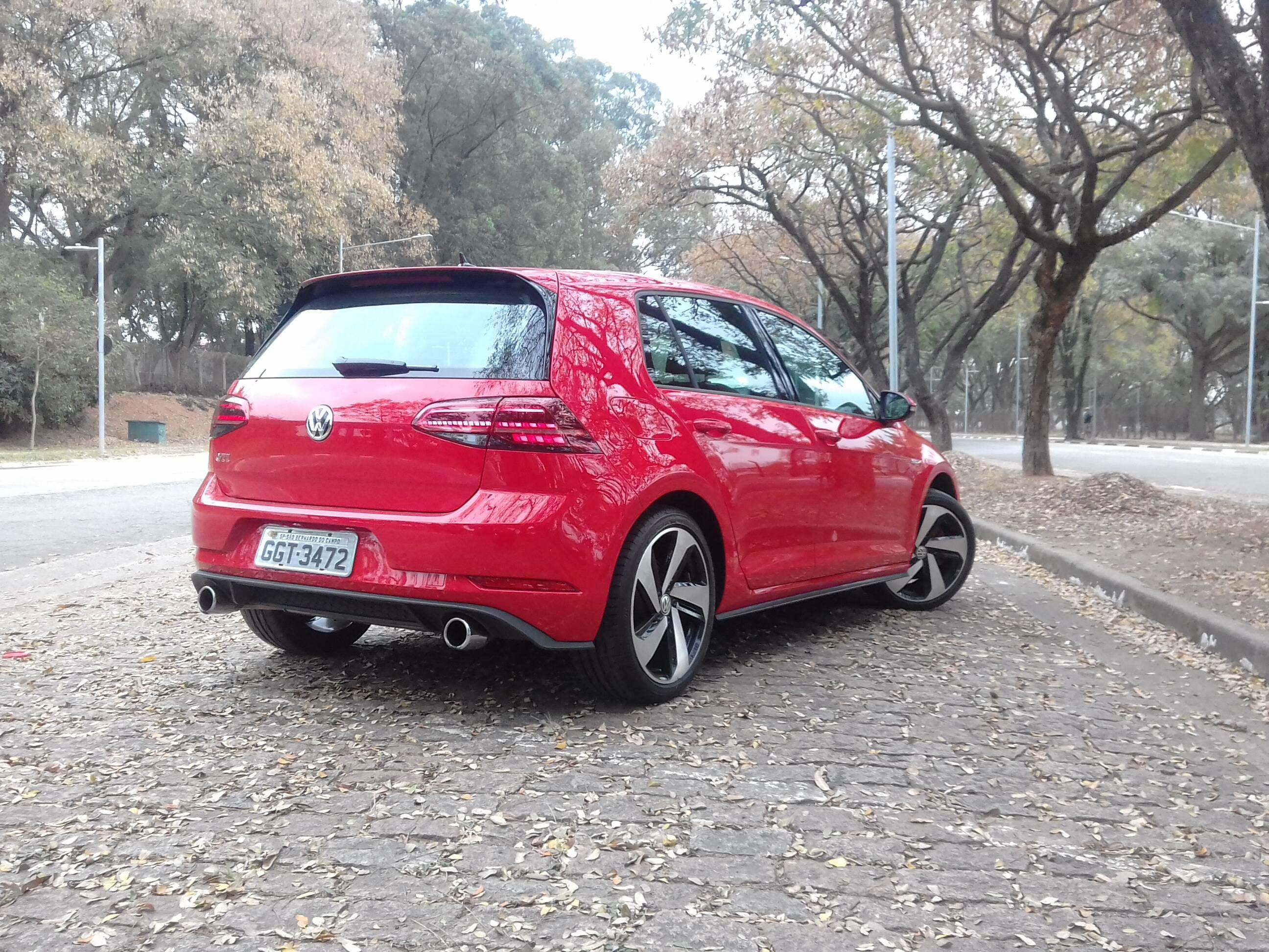 VW Golf GTI. Foto: Carlos Guimarães/iG