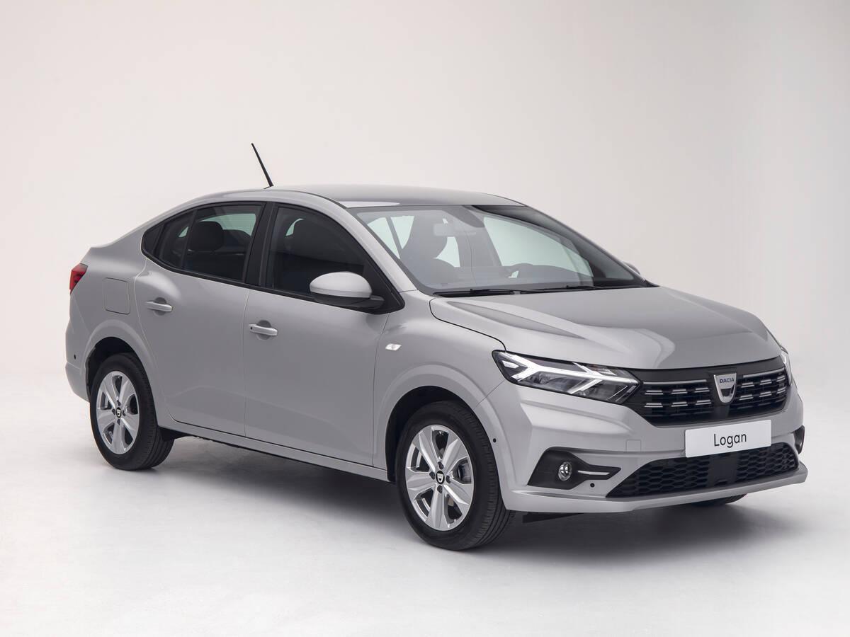 Novo Dacia Logan. Foto: Divulgação