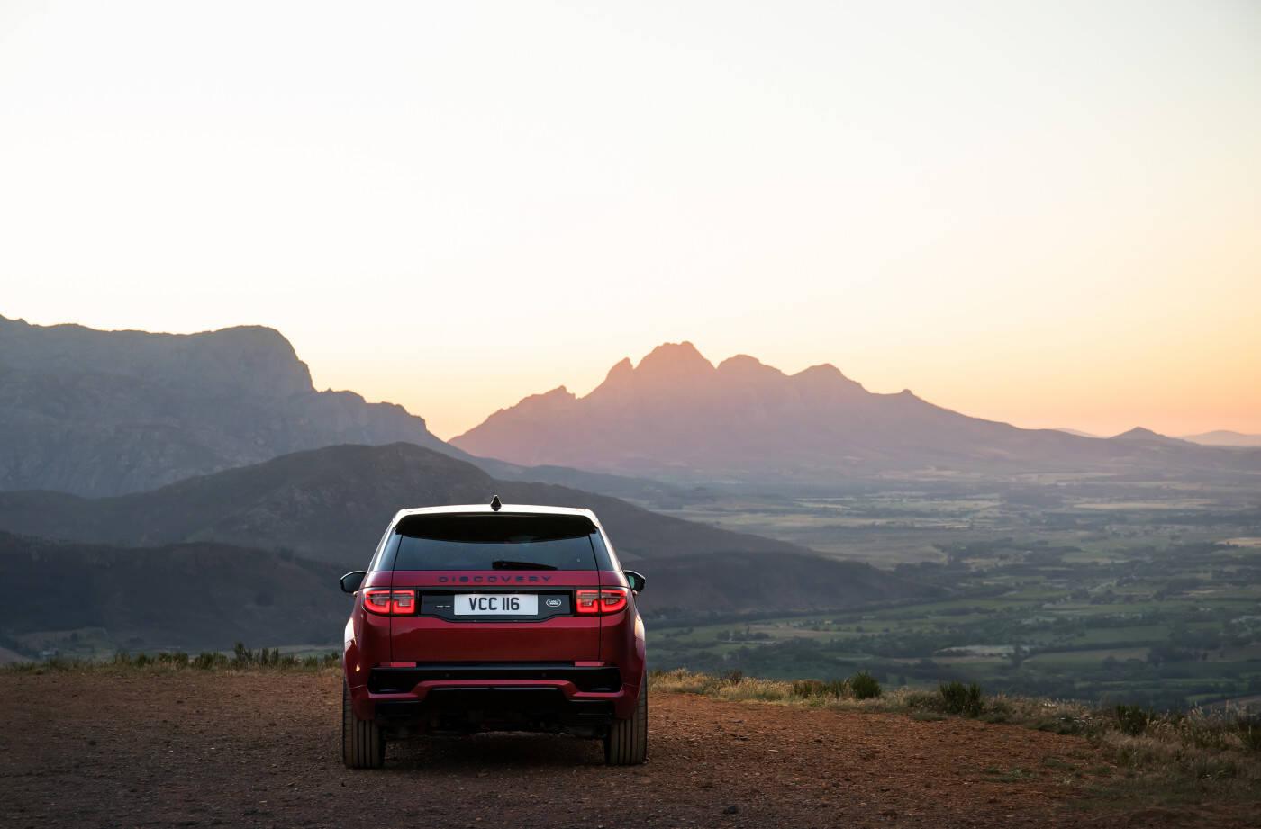 Land Rover Discovery Sport. Foto: Divulgação