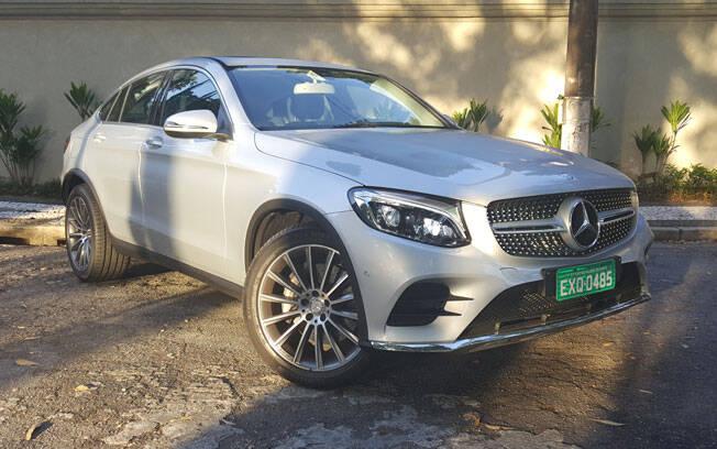 O Mercedes-Benz GLC Coupé chega ao Brasil, inicialmente, apenas na versão 250 4MATIC, por R$ 299.900.. Foto: iG Carros