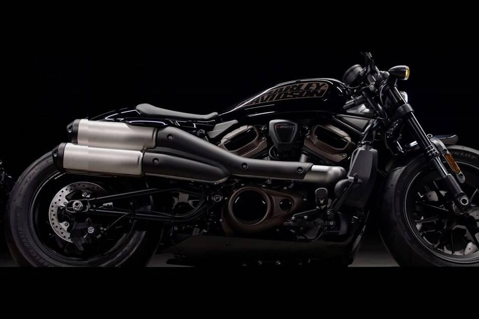 Harley Davidson Custom 1250. Foto: Divulgação