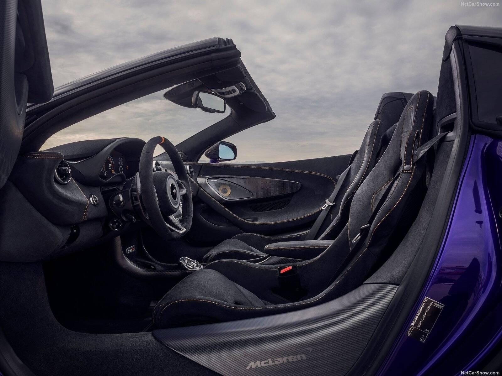 McLaren 600 LT Spider. Foto: Divulgação