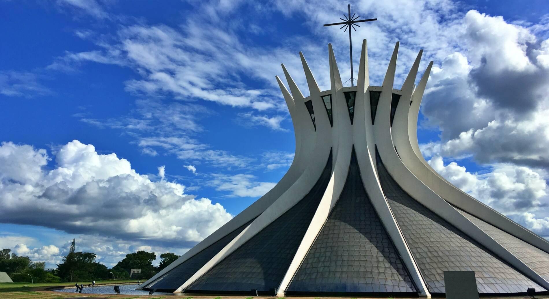 Estrutura da Catedral Metropolitana Nossa Senhora Aparecida. Foto: Reprodução/Across The Universe