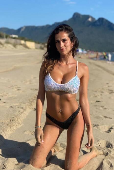 JESSICA MELENA (Ciro Immobile, Itália). Foto: Instagram