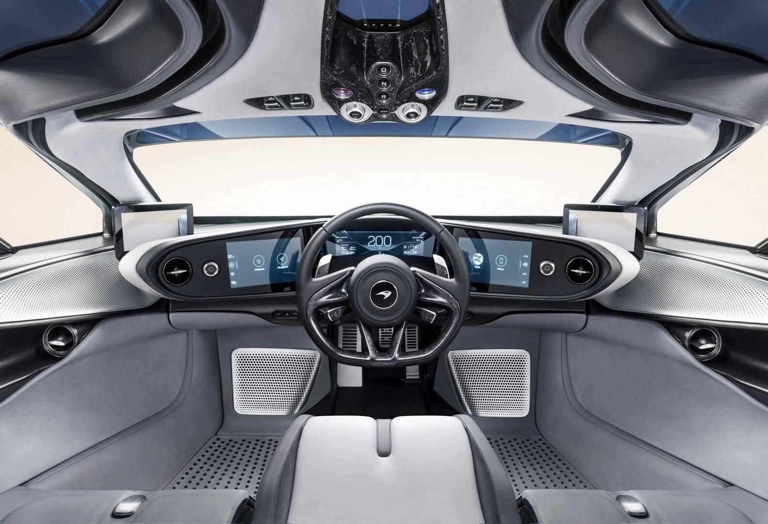 McLaren Speedtail. Foto: Divulgação