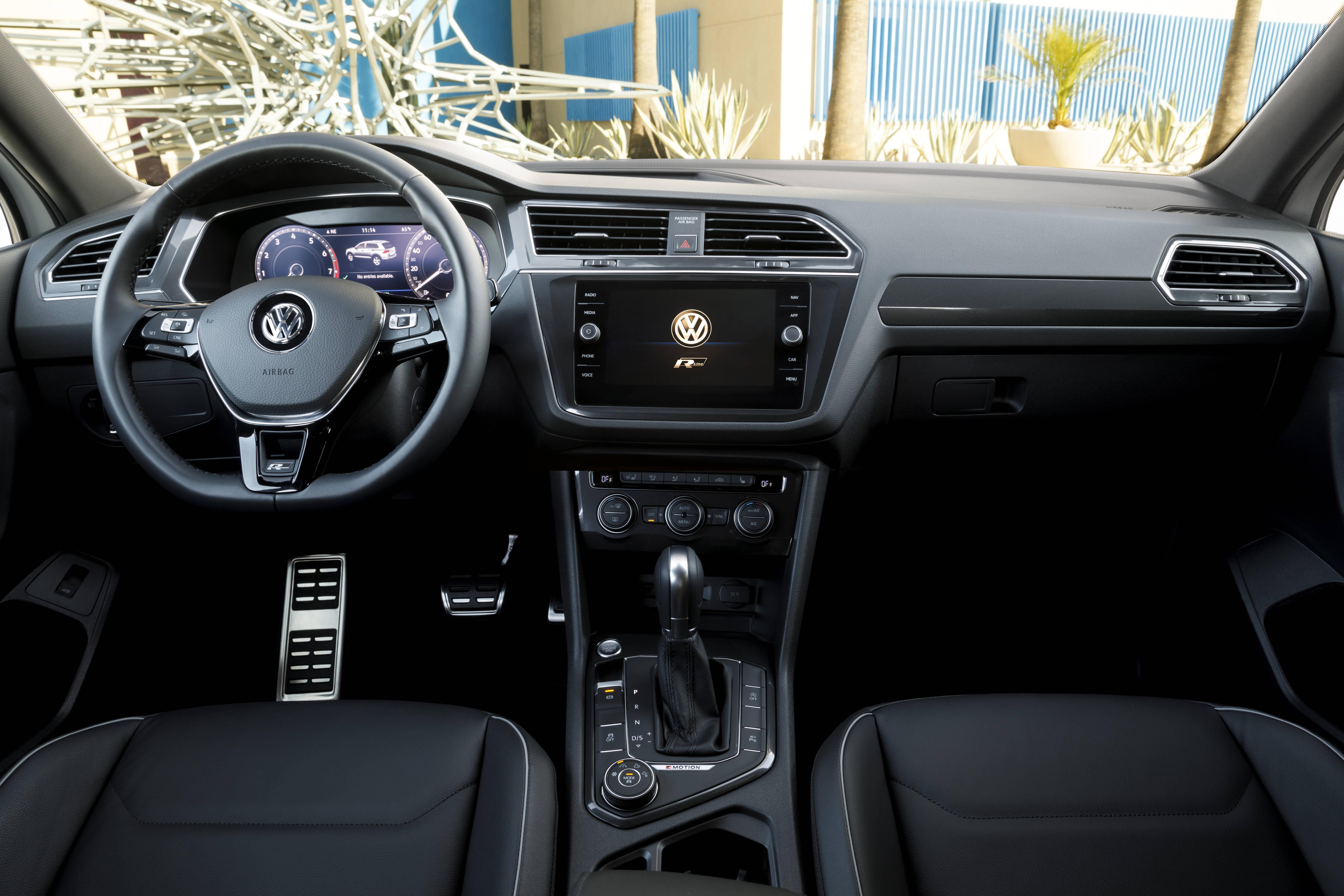 VW Tiguan. Foto: Divulgação