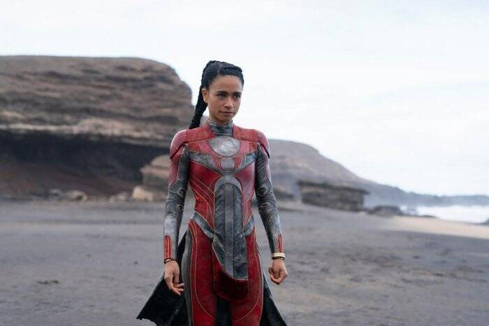 """Os Eternos"" também vai apresentar primeira heróina surda: Makkari, interpretada por Lauren Ridlolff. Foto: Divulgação"