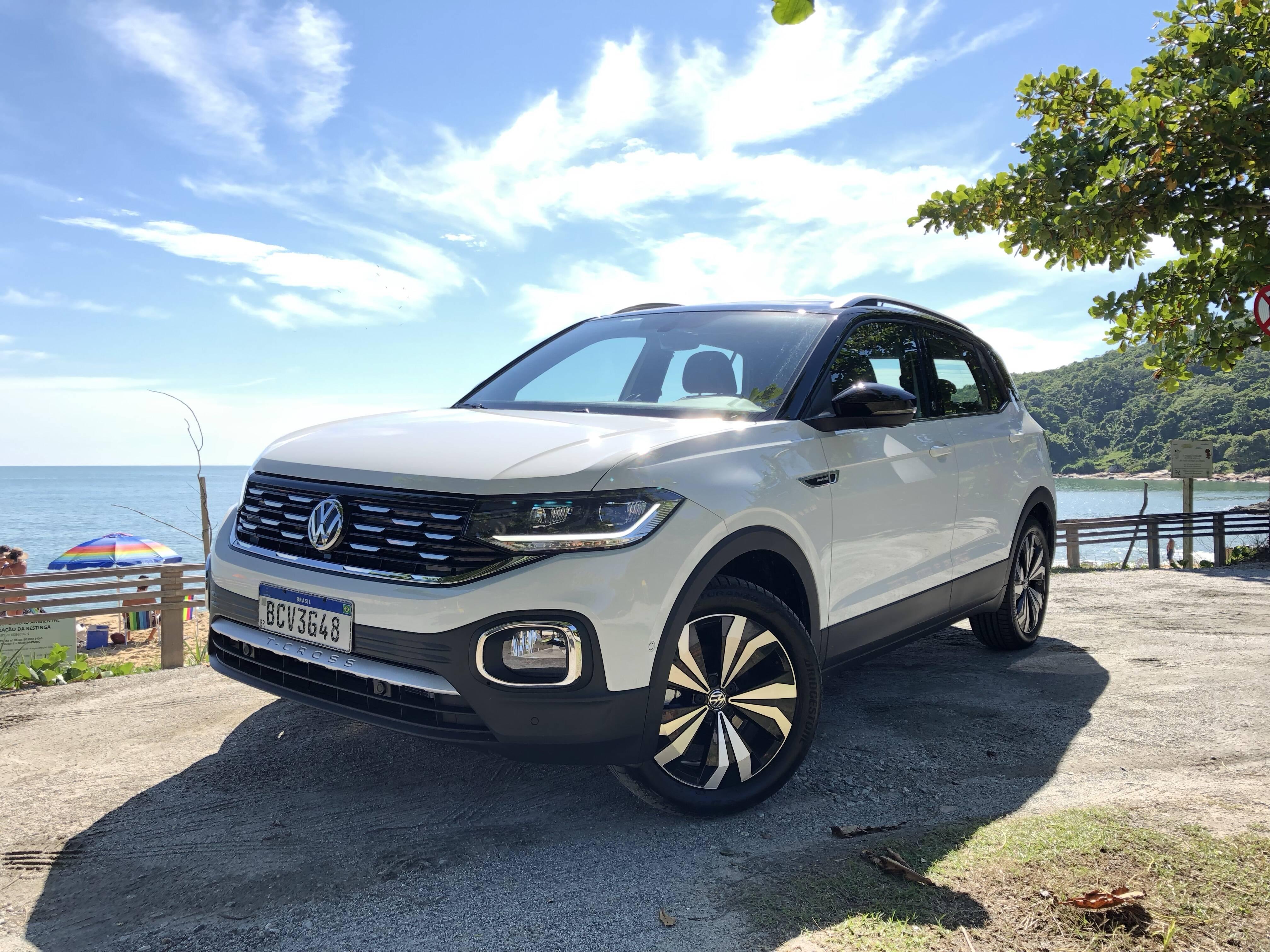 VW T-Cross. Foto: Cauê Lira/iG Carros