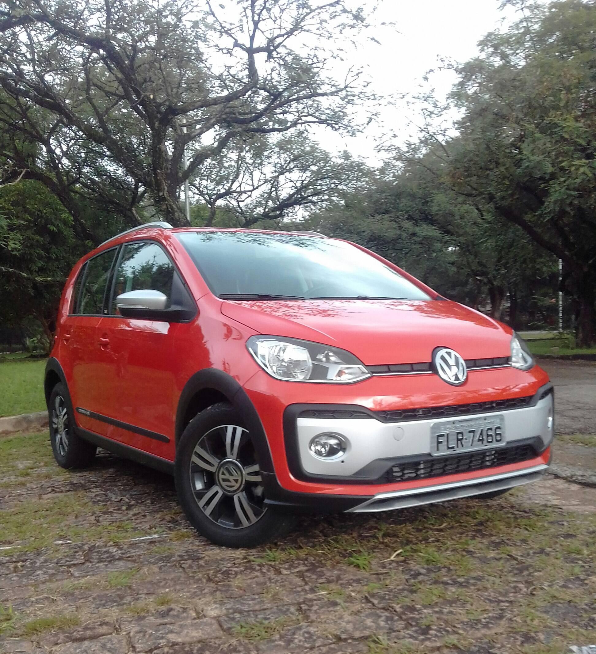 VW Cross Up! TSI. Foto: Divulgação