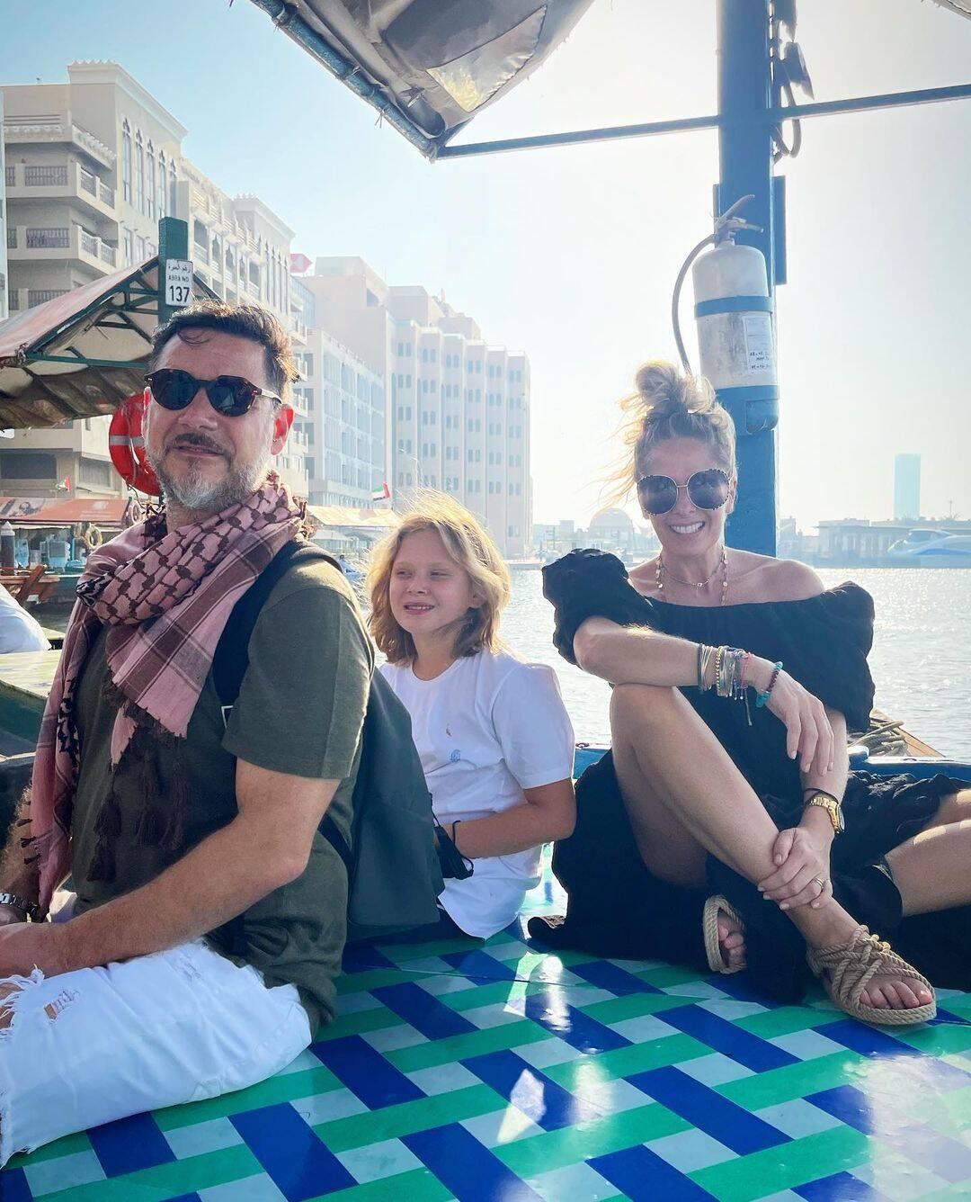 Adriane Galisteu curte férias em Dubai. Foto: Instagram