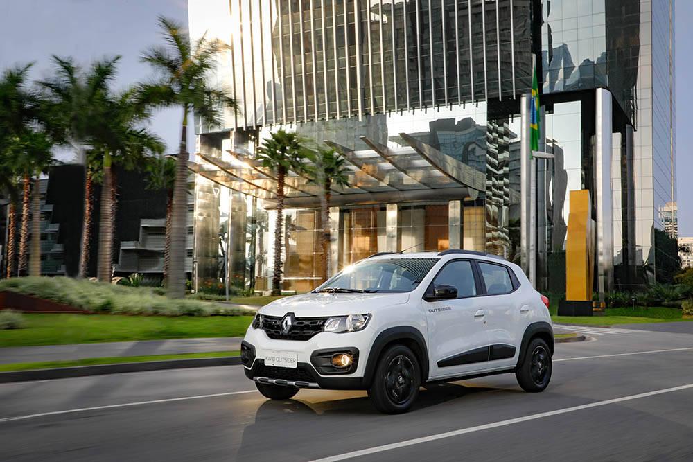 Renault Kwid Outsider. Foto: Divulgação