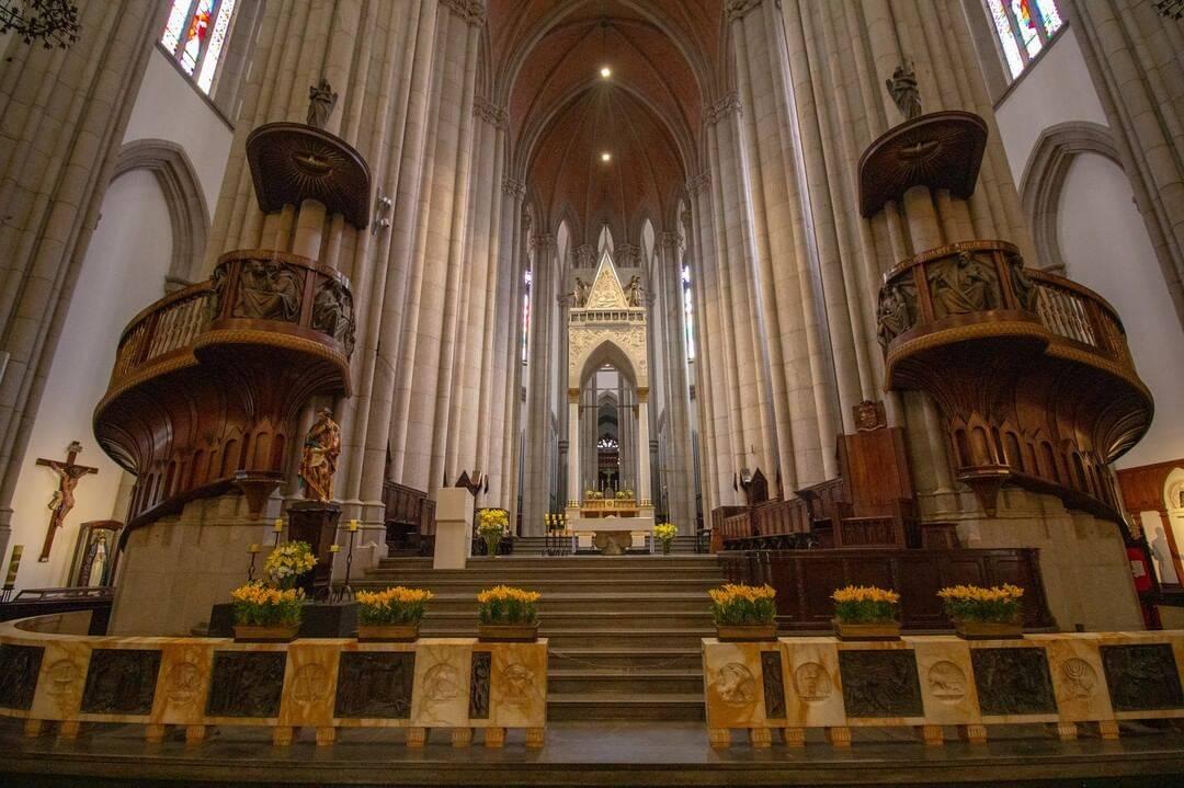 Basílica da Nossa Senhora da Aparecida – Aparecida/SP. Foto: catedraldasesp
