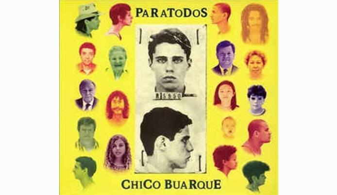 """Capa de """"Paratodos"""",  lançado em 1993.. Foto: Reprodução/ Divulgação"""
