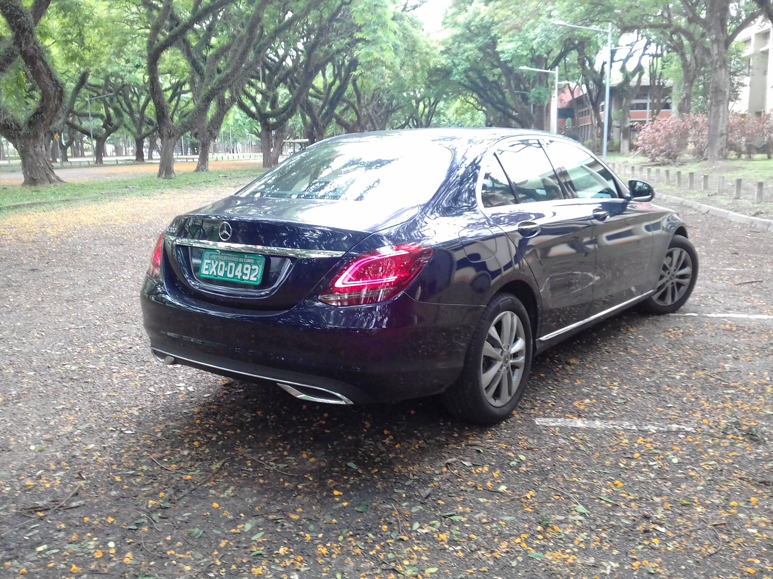 Mercedes C200 EQ Boost. Foto: Carlos Guimarães/iG