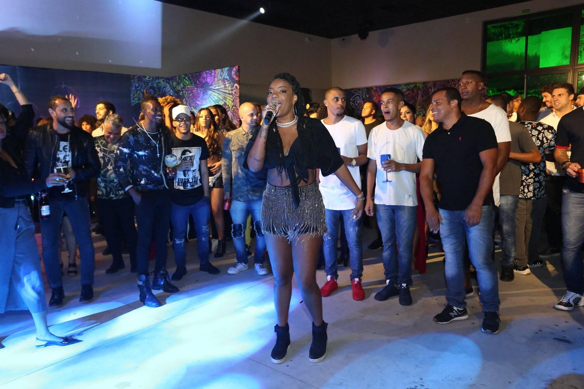 Festa da cantora Ludmilla reúne parentes, amigos e celebridades. Foto: Reginaldo Teixeira/ CS Eventos
