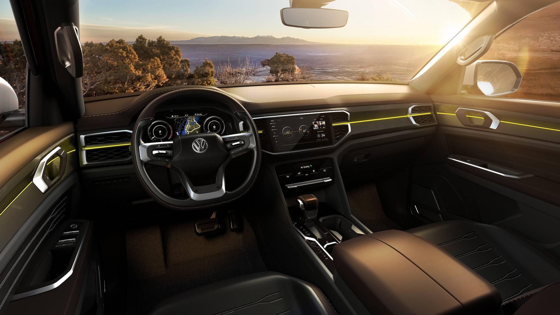 Volkswagen Atlas Tanoak. Foto: Divulgação