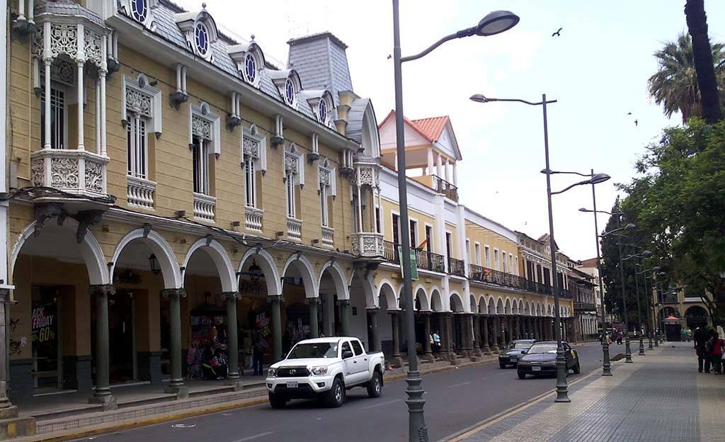Centro de Cochabamba. Foto: Reprodução. Foto: Reprodução
