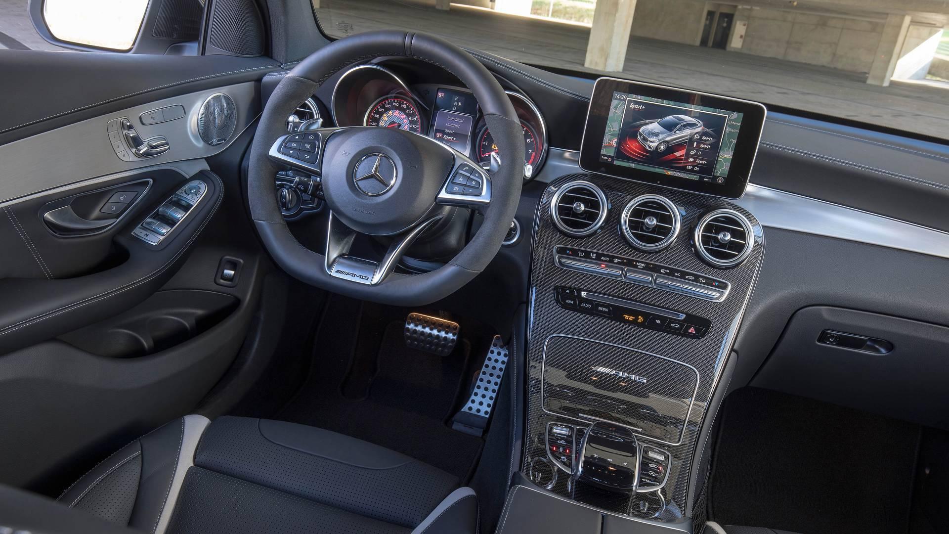 Mercedes GLC 63 AMG. Foto: Divulgação