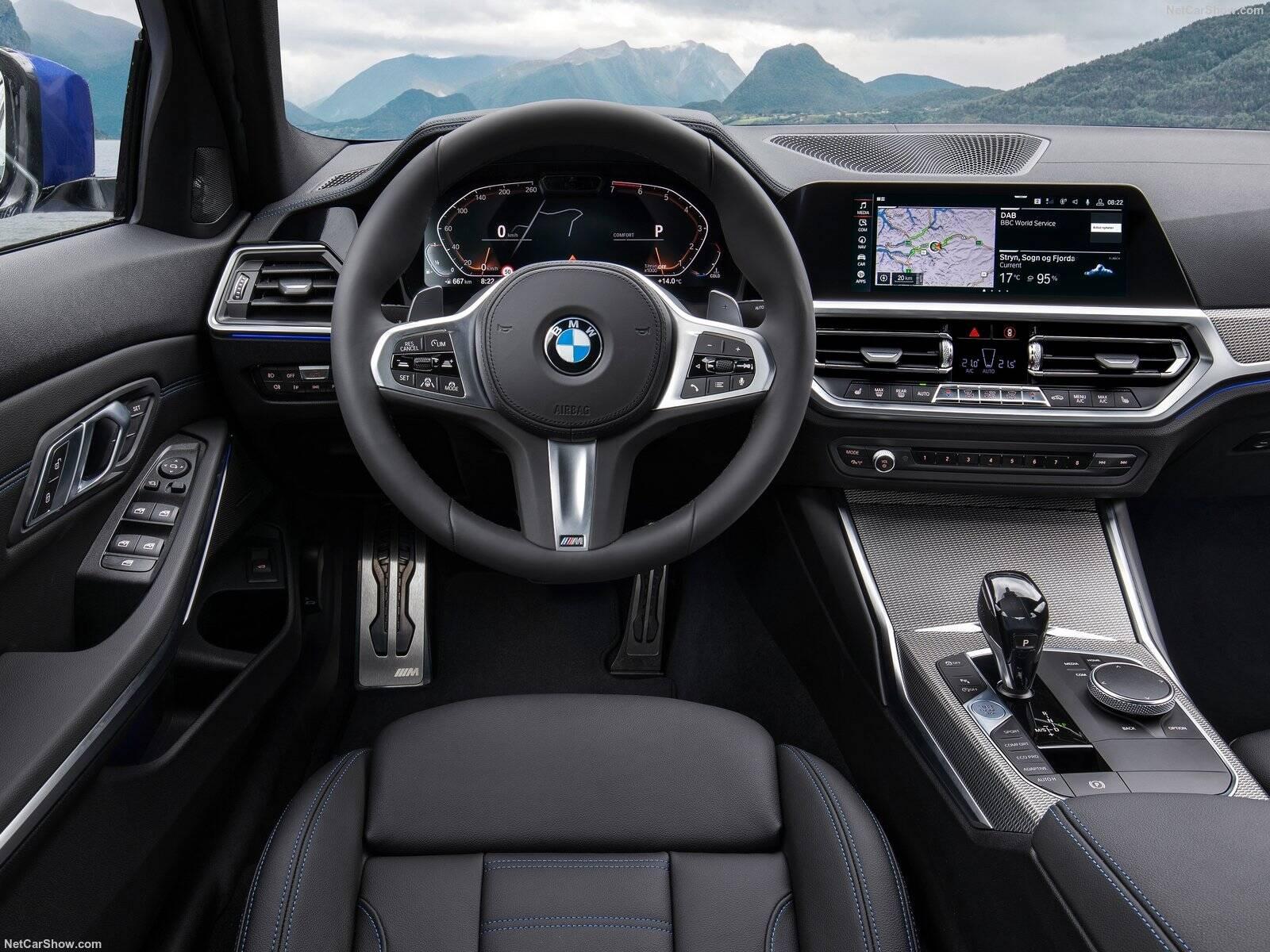 BMW 320i. Foto: Divulgação