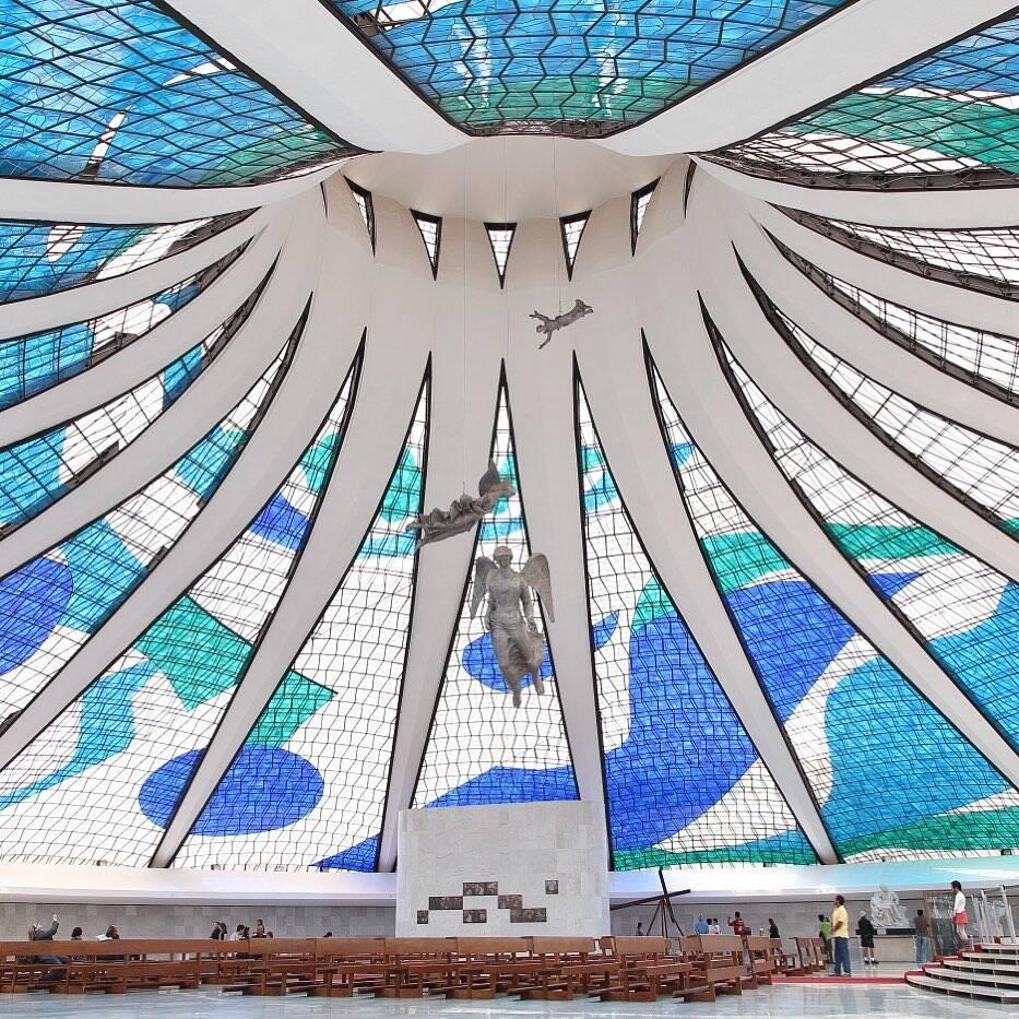 Catedral Metropolitana de Brasília . Foto:  worldheritage_yay