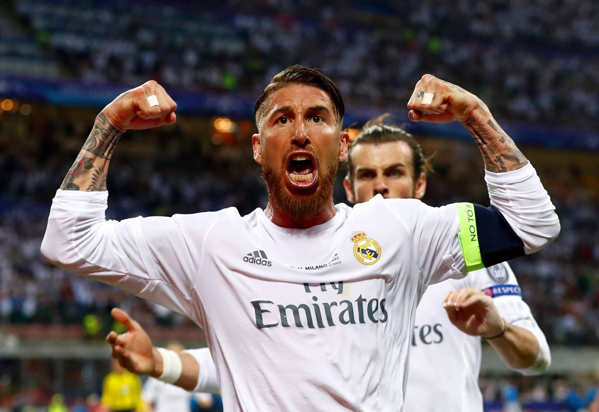 Sergio Ramos Real Madrid. Foto: Divulgação