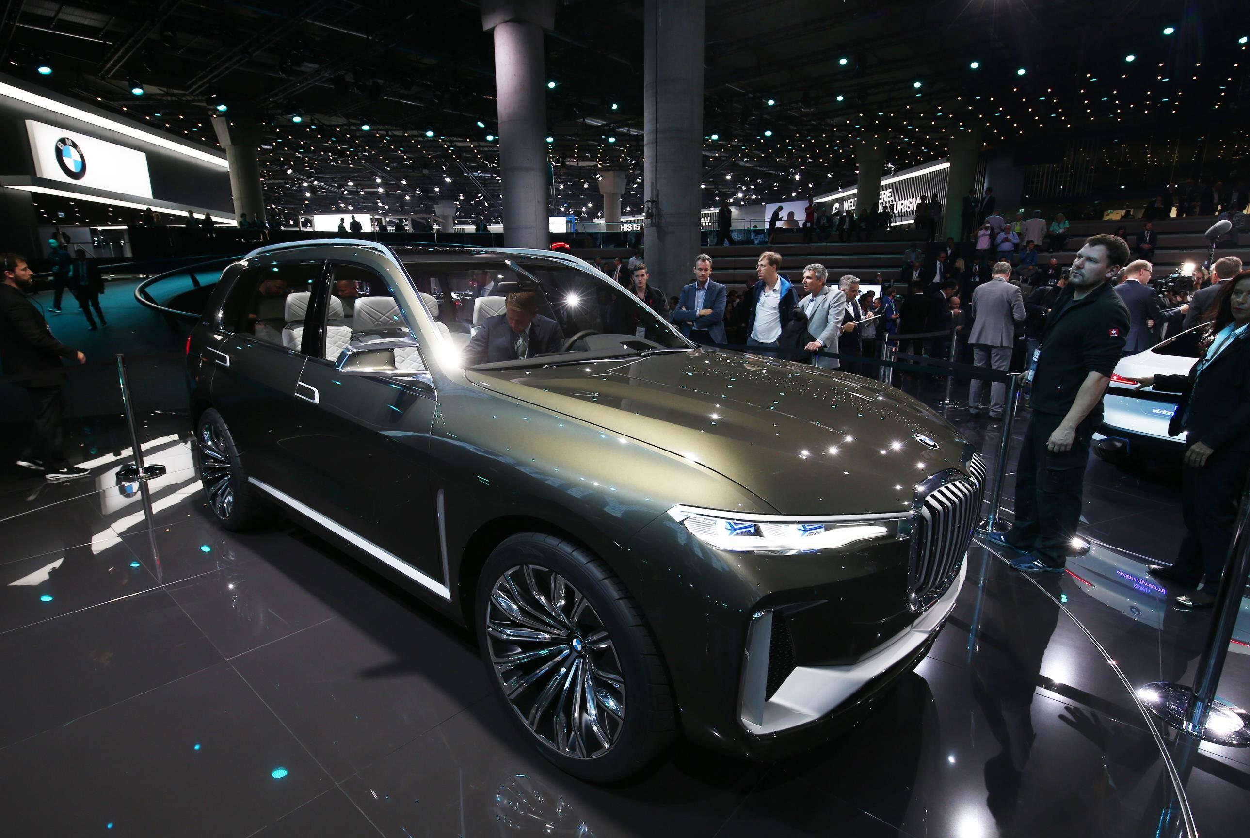 BMW X7 Concept. Foto: Newspress