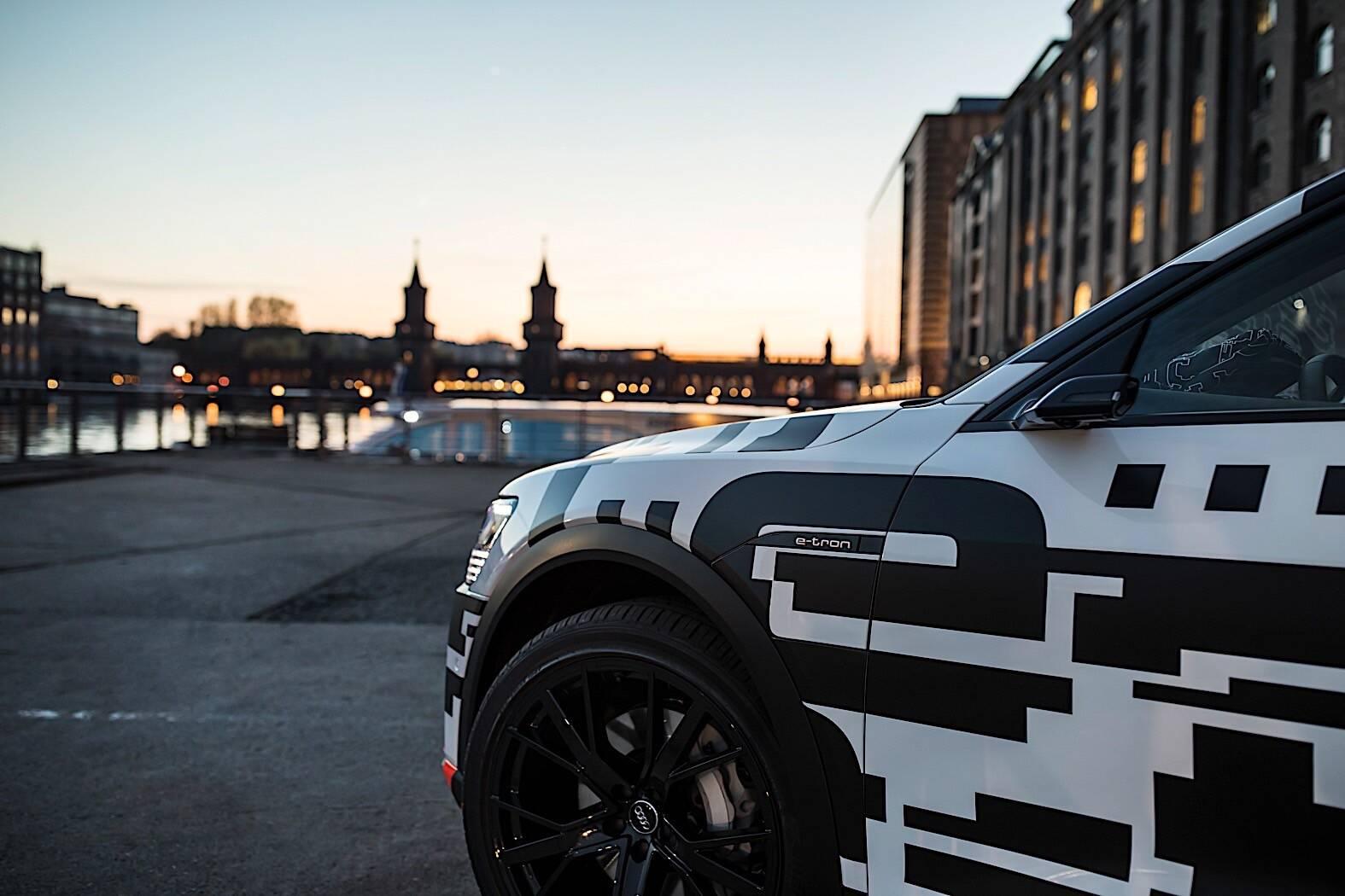 Audi E-Tron. Foto: Divulgação