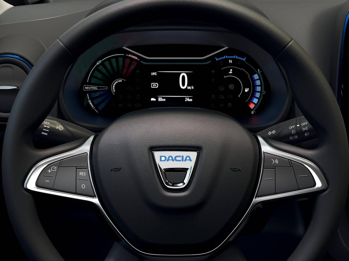 Dacia Spring. Foto: Divulgação