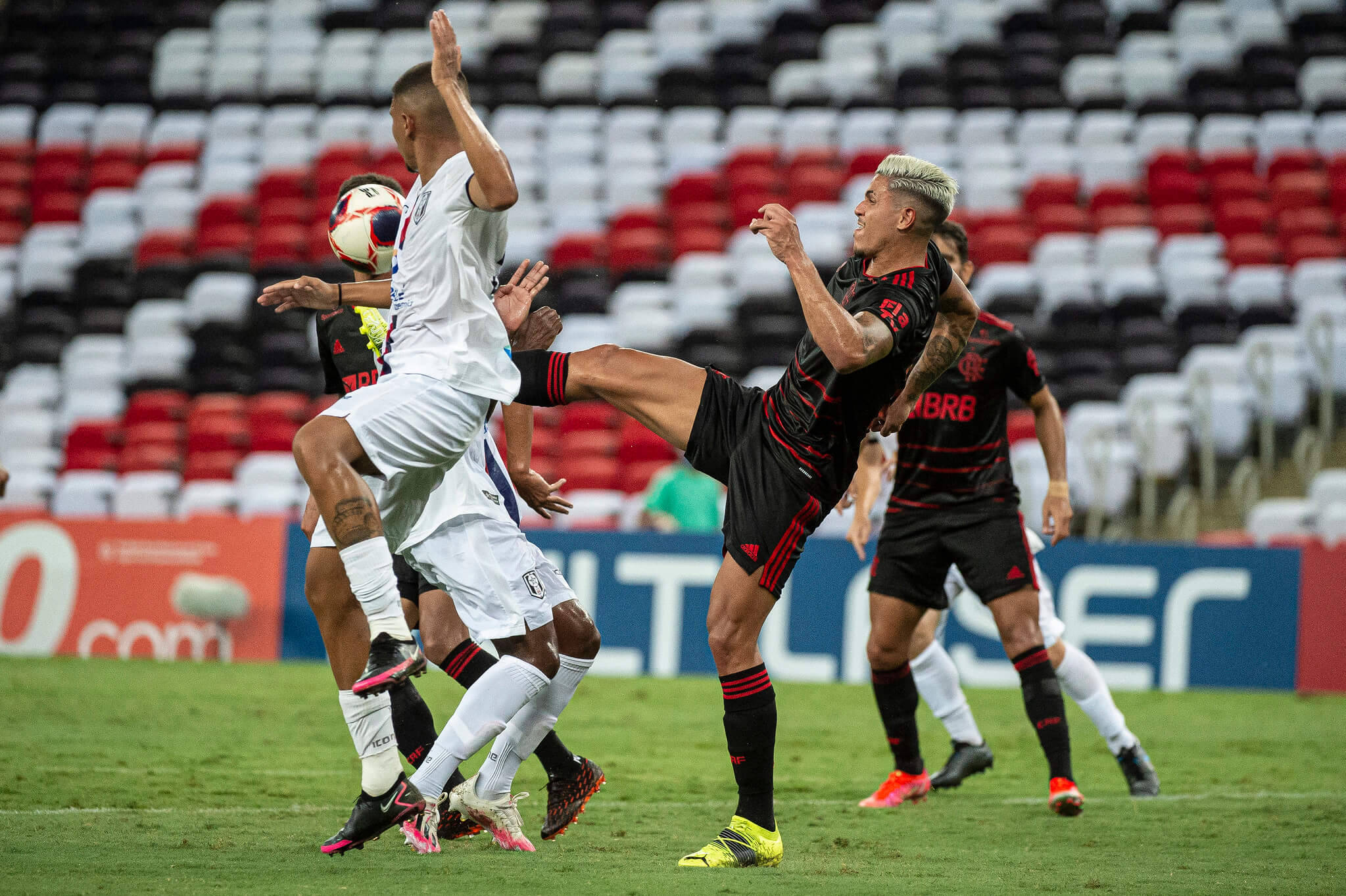 Flamengo x Resende. Foto: Alexandre Vidal / Flamengo