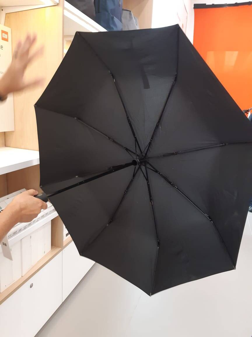 Guarda-chuva Xiaomi. Foto: Marina Teodoro/iG Tecnologia
