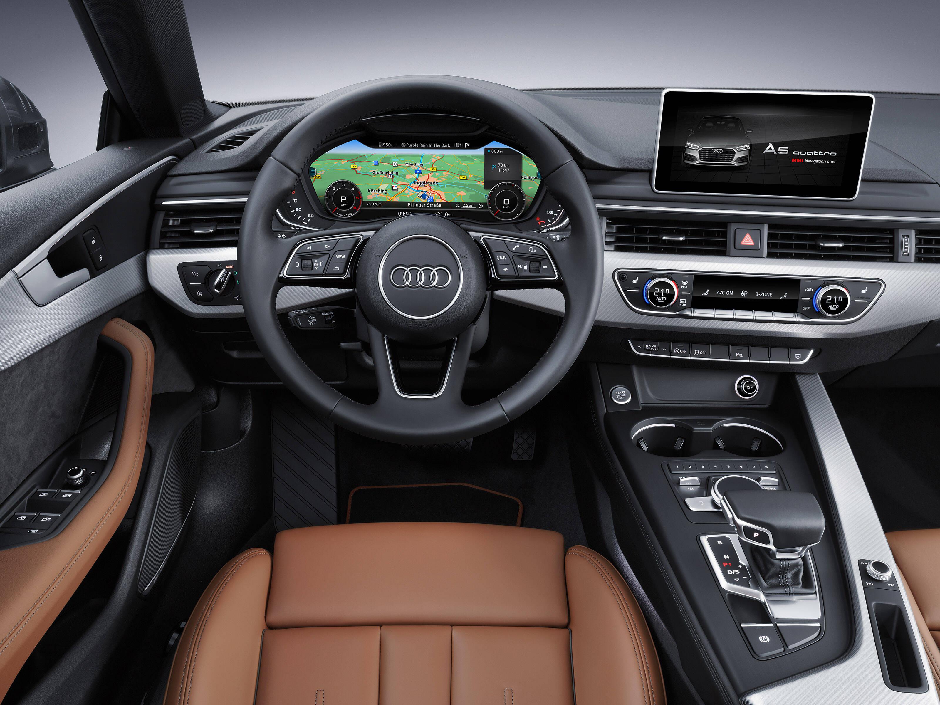 Audi A5 Sportback. Foto: Divulgação