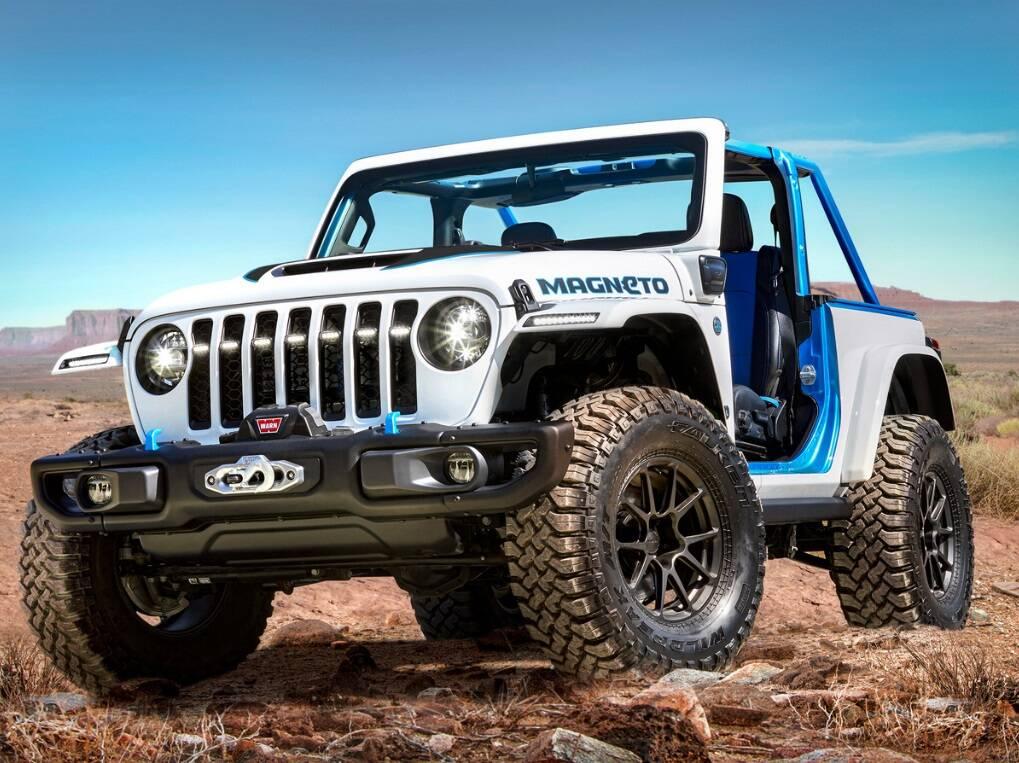 Jeep Magneto. Foto: Divulgação
