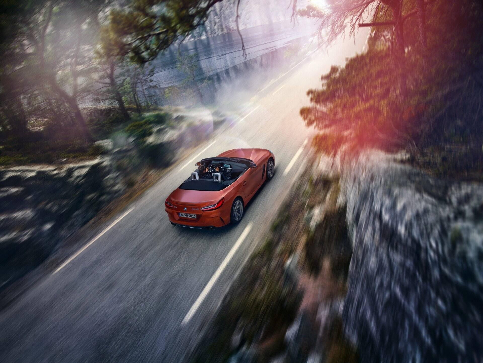 BMW Z4 de produção. Foto: Divulgação