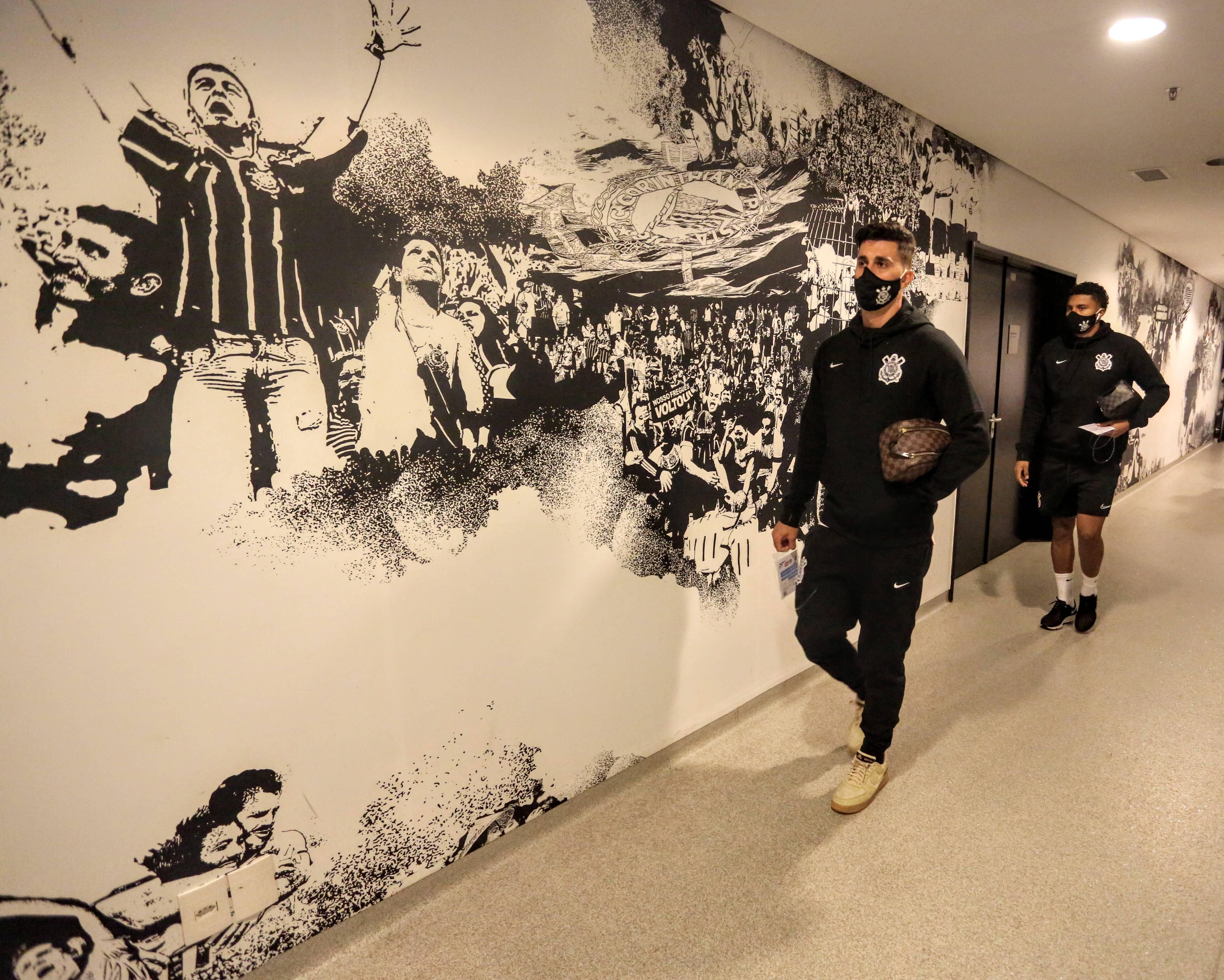 Corinthians X Palmeiras. Foto: Rodrigo Coca/Agência Corinthians