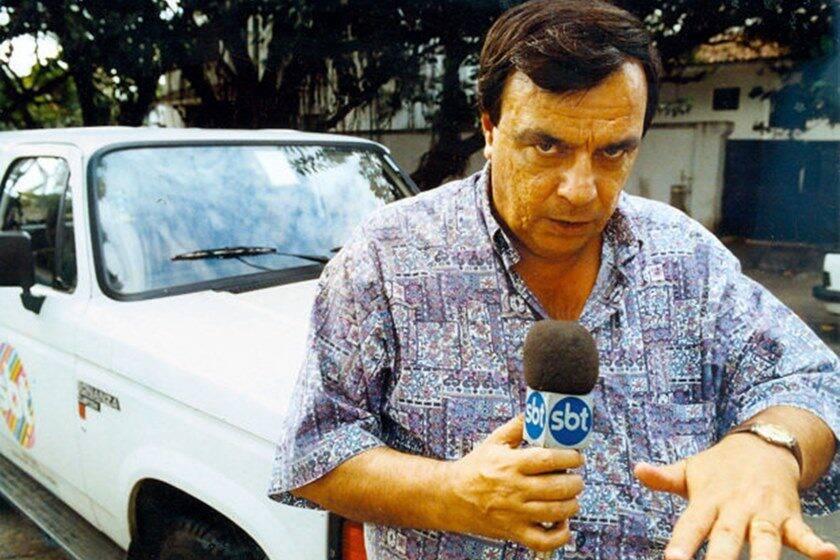 Repórter Gil Gomes morreu aos 78 anos, no dia 16 de outubro, em São Paulo, por conta de um câncer. Foto: Divulgação
