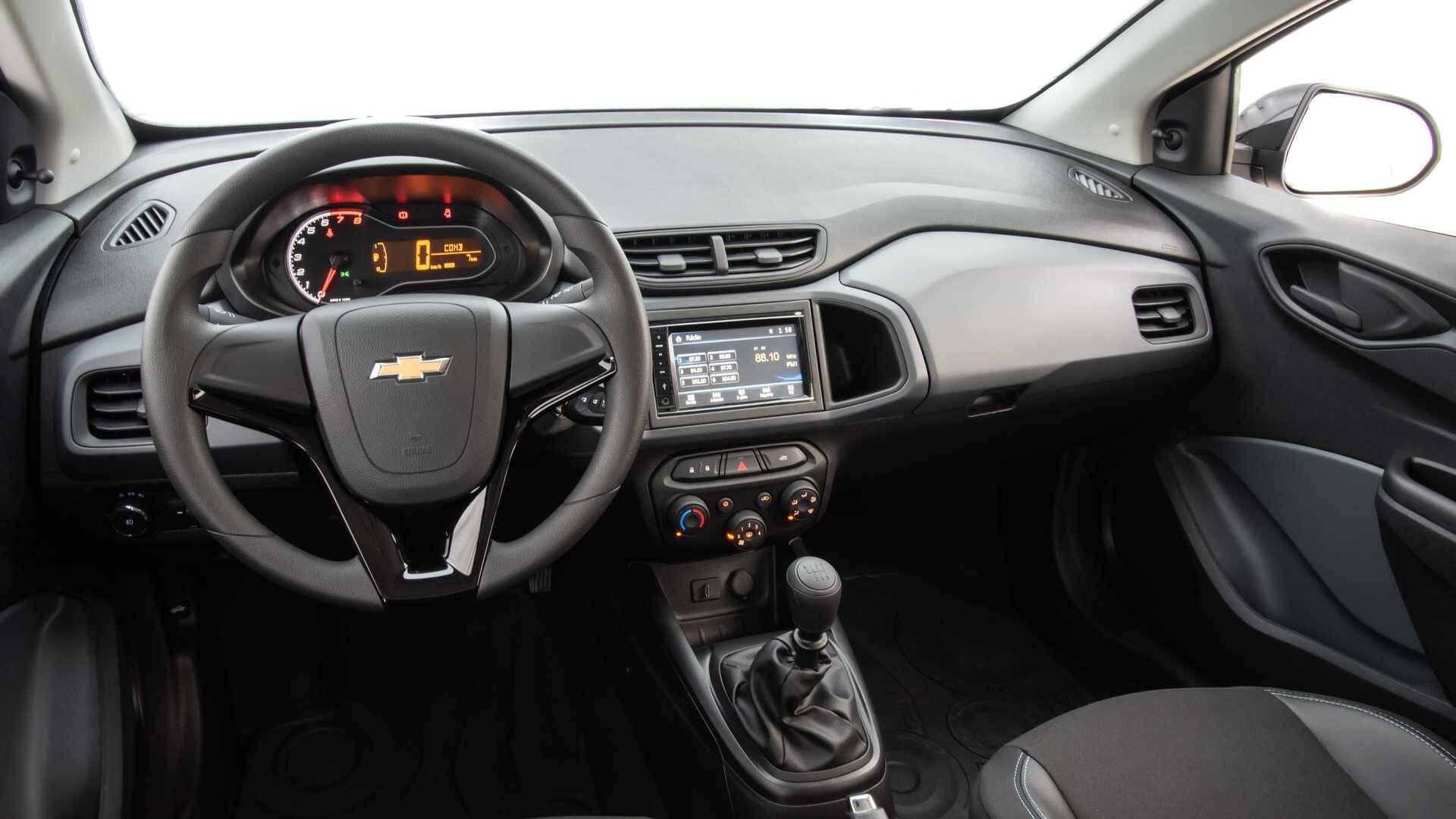 Chevrolet Onix Joy 2020. Foto: Divulgação