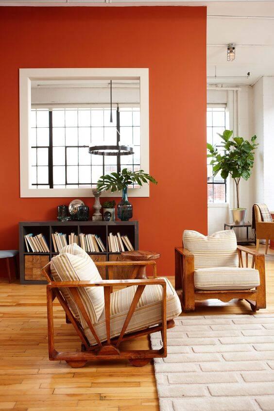 Flávia Sá explica que o laranja é uma cor quente e intensa. Foto: Pinterest