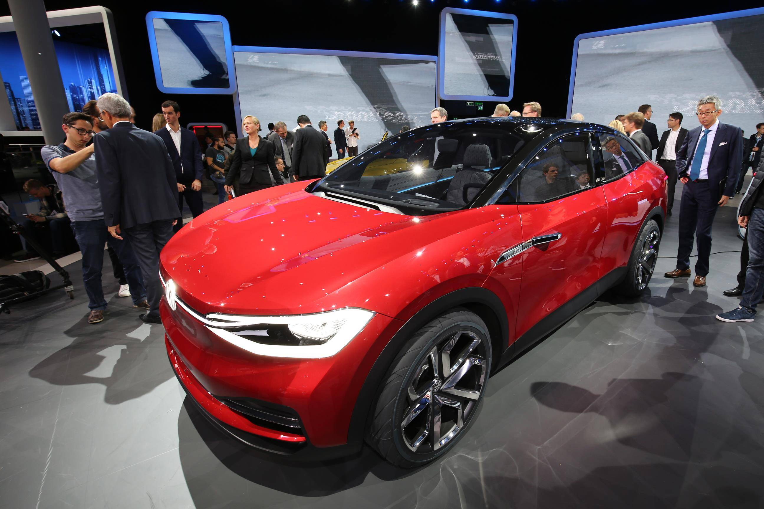 Volkswagen I.D. Crozz. Foto: Newspress