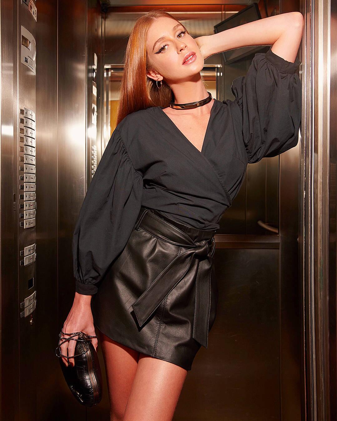 Marina Ruy Barbosa virou ícone de referência no mundo da moda. Foto: Reprodução/Instagram