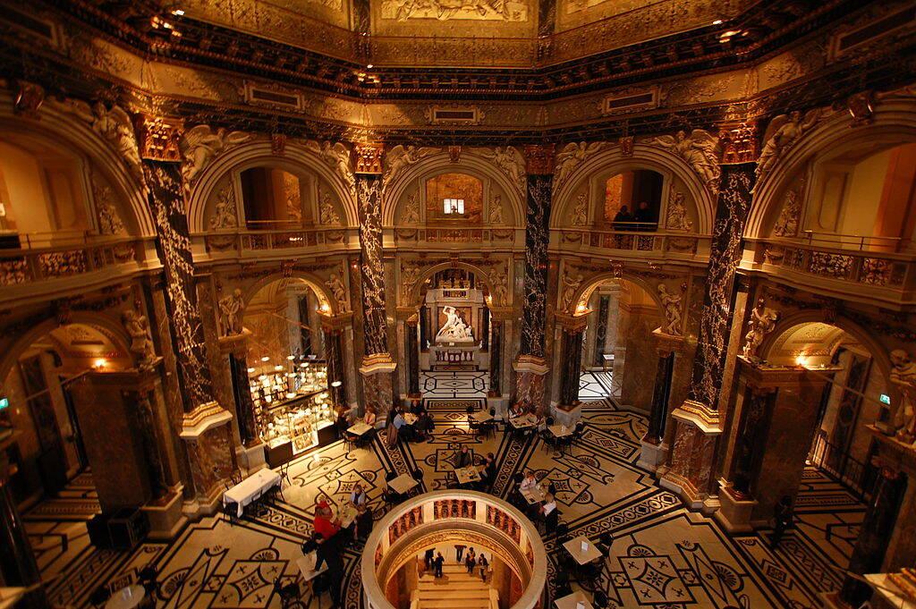 O Museu de História da Arte reúne itens de civilizações da antiguidade. Foto: Reprodução/Dicas da Europa