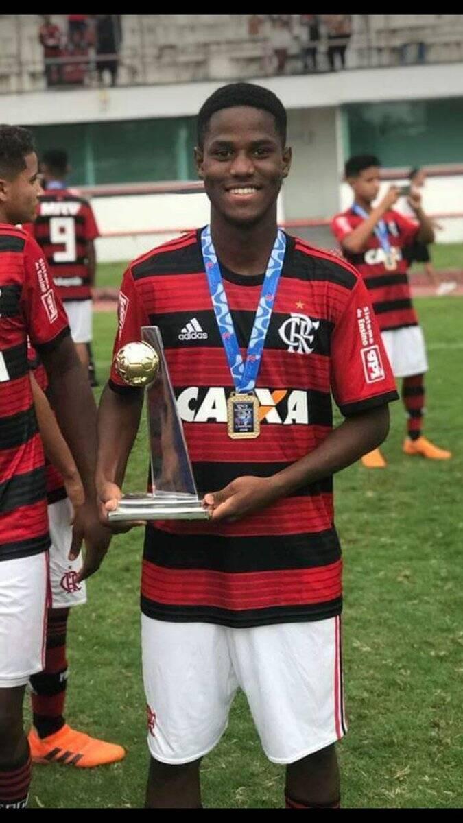 Samuel Thomas foi uma das vítimas fatais da tragédia no Flamengo. Foto: Divulgação
