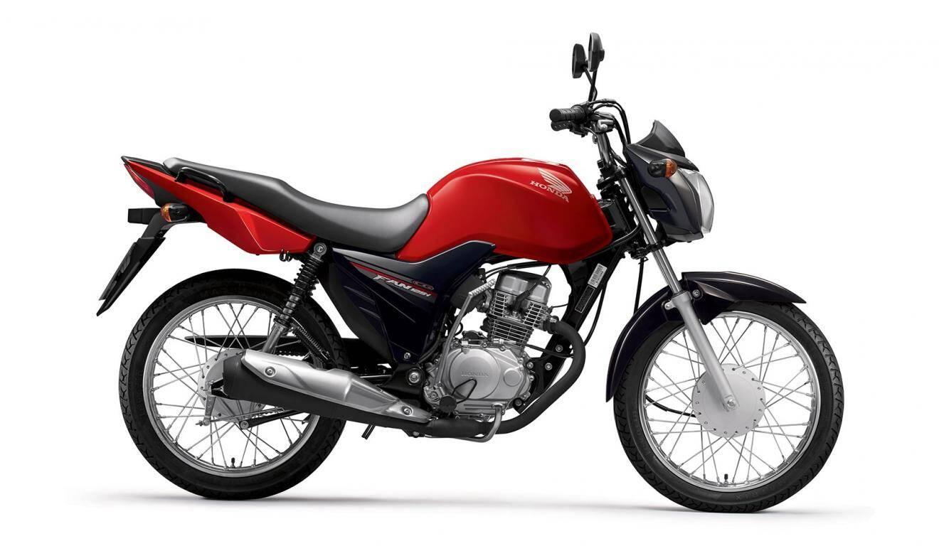 Honda CG 125. Foto: Divulgação
