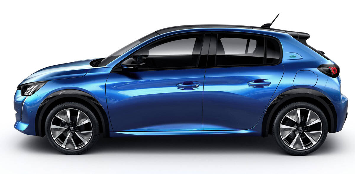 Novo Peugeot 208 (divulgação oficial). Foto: Divulgação