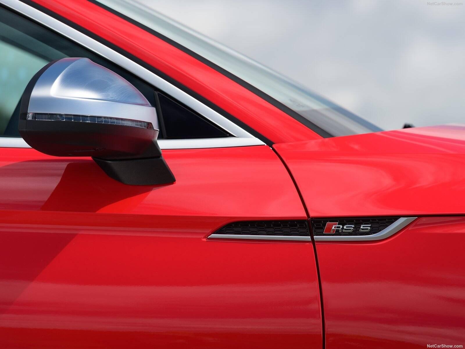 Audi RS5. Foto: Divulgação
