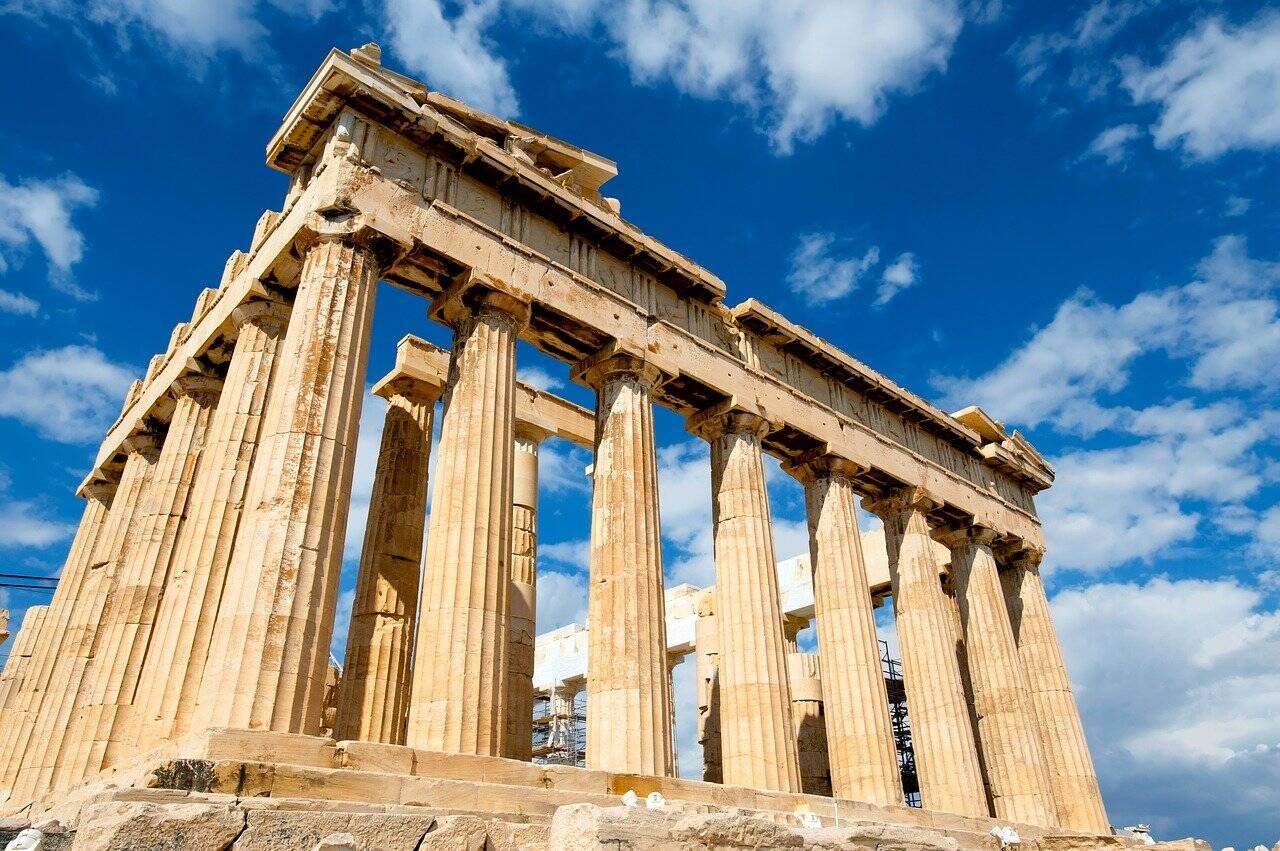 O Paternon é uma das estruturas mais resistentes do mundo . Foto: Pixabay
