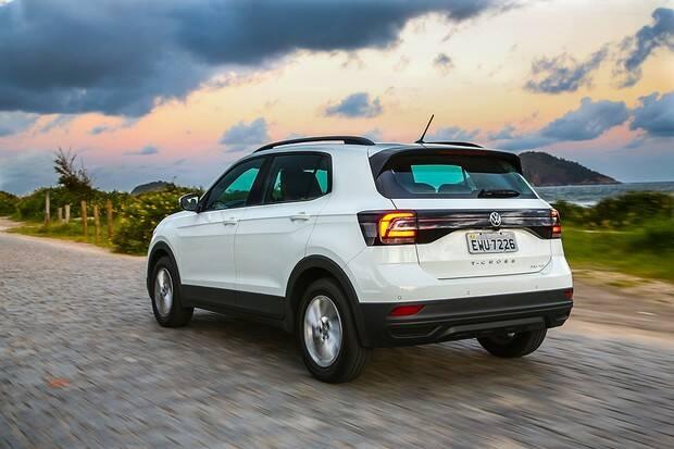 VW T-Cross. Foto: Divulgação