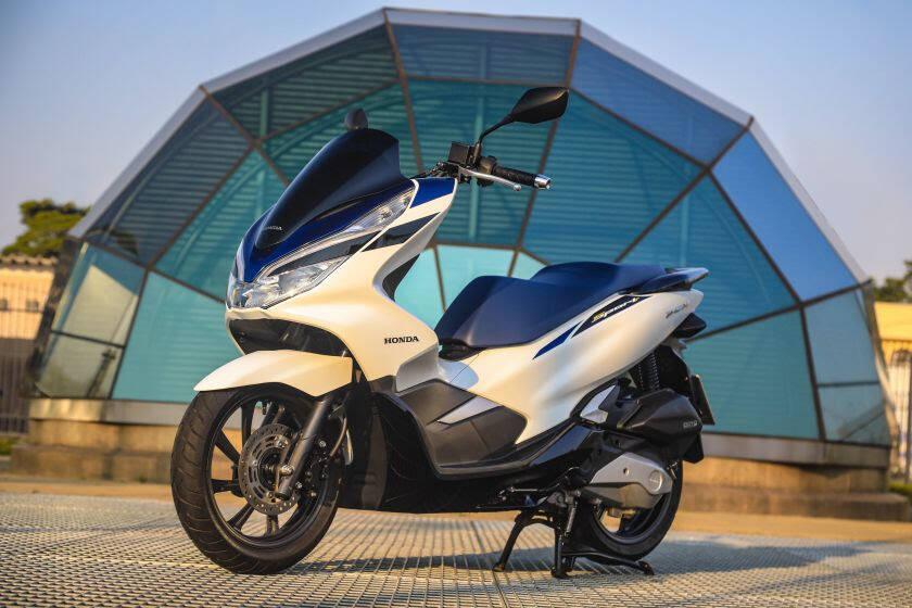 Honda PCX 2022. Foto: Divulgação